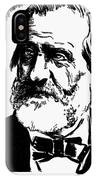 Giuseppe Verdi (1813-1901) IPhone Case