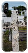 Key West Cemetery IPhone Case