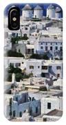 Mykonos Town IPhone Case