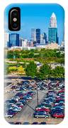 Skyline Of Uptown Charlotte North Carolina IPhone Case
