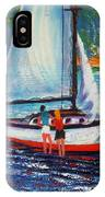 Blissful Moments In The Stream IPhone X Case