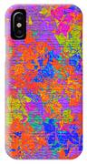 1115 Abstract Thought IPhone Case