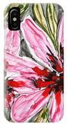 Mann Flowers IPhone Case