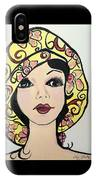 Flapper Girl Claire IPhone Case