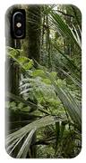 Jungle Leaves IPhone Case