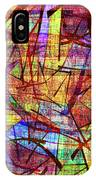 1261 Abstract Thought IPhone Case