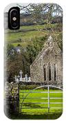 12th Century Cross And Church In Ireland IPhone Case