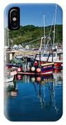 Lyme Regis Harbour IPhone Case