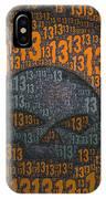 13 Skull IPhone Case