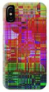 1300 Abstract Thought IPhone Case