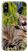 Cat In Hydra Island IPhone Case