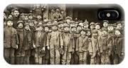 Hine Child Labor, 1911 IPhone Case