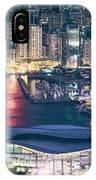Hong Kong At Night IPhone Case