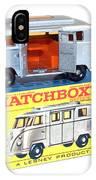 Matchbox 1-75 IPhone Case