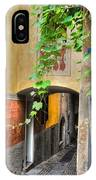 Tight Alley IPhone Case