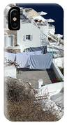 Views Of Santorini Greece IPhone Case