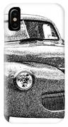 1941 Ford Coupe IPhone Case