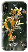 15 Hummingbirds IPhone Case