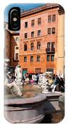 Piazza Navona In Rome IPhone Case