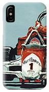 Automobile Racing IPhone X Case