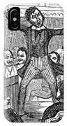 Davy Crockett (1786-1836) IPhone Case