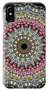 Kaleidoscope Stained Glass Window Series IPhone Case