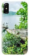 Lake Santeetlah In Great Smoky Mountains North Carolina IPhone Case