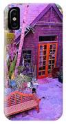 Malibu Cottage IPhone Case