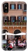 Piazza Navona In Rome IPhone Case