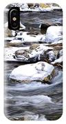 Winter Along Williams River IPhone Case