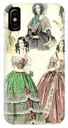 Women's Fashion, 1842 IPhone Case