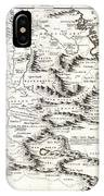 1690 Coronelli Map Of Ethiopia Abyssinia  And The Source Of The Blue Nile Geographicus Abissinia Cor IPhone Case