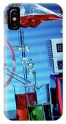 Chemistry Experiment In Lab IPhone Case