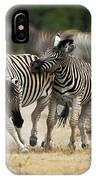Zebre De Burchell Equus Burchelli IPhone Case