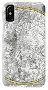 1700 Celestial Planisphere IPhone Case