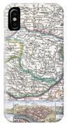 1710 De La Feuille Map Of Transylvania  Moldova IPhone Case