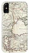 1715 De  Lisle Map Of The Eastern Roman Empire Under Constantine  IPhone Case