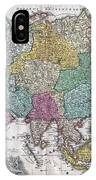 1730 C Homann Map Of Asia Geographicus Asiae Homann 1730 IPhone Case