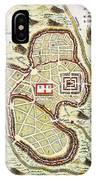 1730 Street Map Or Plan Of Jerusalem Geographicus Jerusalem Uk 1730 IPhone Case
