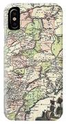1740 Seutter Map Of India Pakistan Tibet And Afghanistan IPhone Case