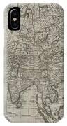 1745 Asia Map IPhone Case