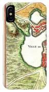 1756 Bellin Map Of Boston Massachusetts Geographicus Boston2 Bellin 1756 IPhone Case