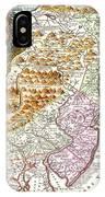 1756 Lotter Map Of Pennsylvania New Jersey New York Geographicus Pensylvanianovajersey Lotter 1756 IPhone Case