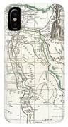 1762 Bonne Map Of Egypt  IPhone Case