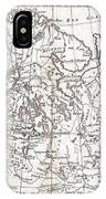 1780 Raynal And Bonne Map Of Northern Europe And European Russia IPhone Case