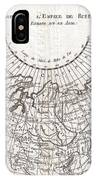 1780 Raynal And Bonne Map Of Russia IPhone Case
