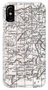 1780 Raynal And Bonne Map Of Spain And Portugal IPhone Case