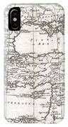 1780 Raynal And Bonne Map Of Turkey In Europe And Asia IPhone Case
