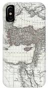 1782 D Anville Map Of The Eastern Roman Empire IPhone Case
