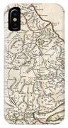 1788 Bocage Map Of Thessaly In Ancient Greece IPhone Case